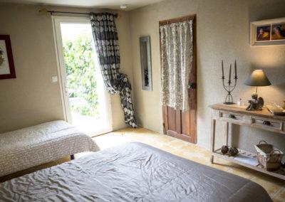 Chambre d'hôtes l'atelier du Vannier, tout confort, entre Arles, Avignon et Aix en Provence